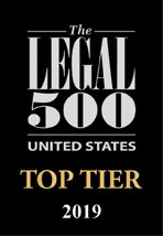 Cahill Ranked Among the Nation's Elite Law Firms by The Legal 500 2019