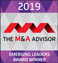 Ross Sturman Earns 10th Annual Emerging Leader Award from The M&A Advisor